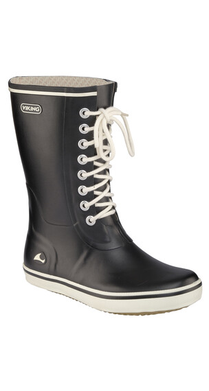 Viking Retro Light Boots Women Black